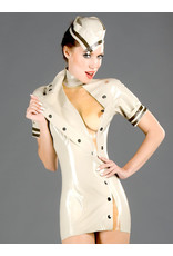 Latex Military Dress