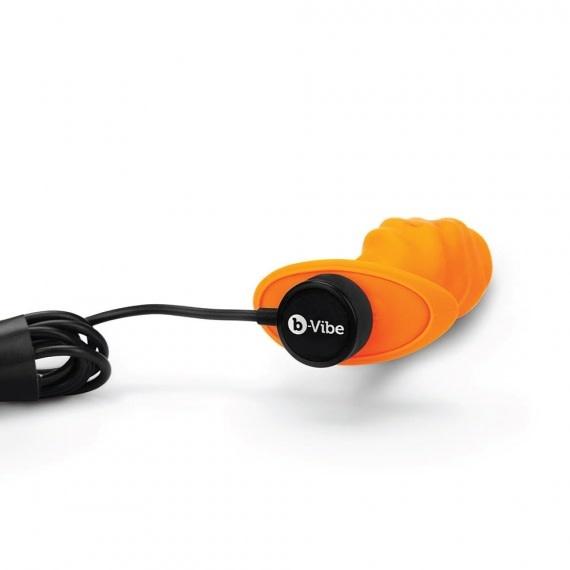 B-Vibe B-Vibe Swirl Vibrating Texture Plug