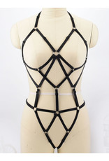 Open Cup Body Harness