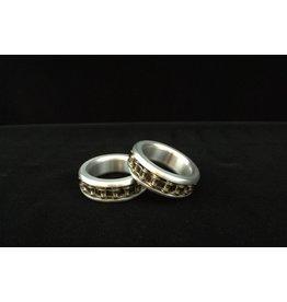Aluminum Biker Chain Cock Ring
