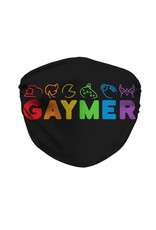 Cover My Mouth Sublimation Pride Mask