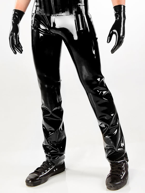 Latex Sailor Pants