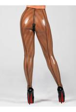 Polymoprhe Stripe Latex Stirrup Leggings