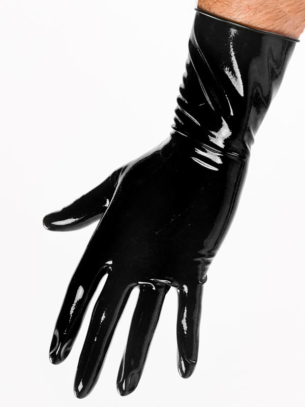 Latex Wrist Length Gloves