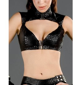 Textured Latex Amazon Top