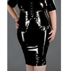 DP Latex Pencil Skirt