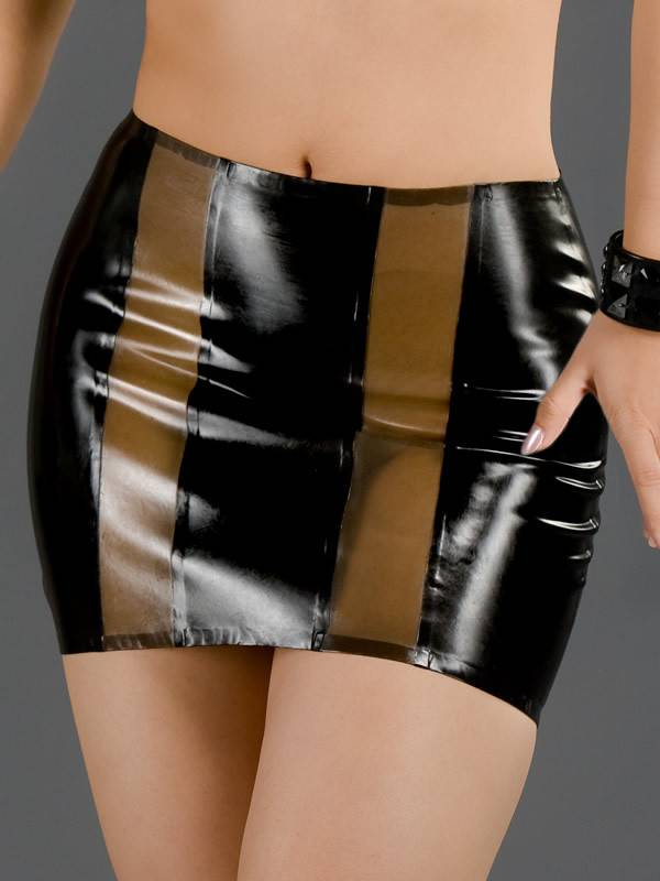 Latex Coquette Skirt