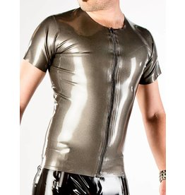 DP Latex Zip Front T-Shirt