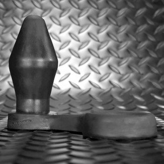 Cone Asslock Plug w/ Cock Ring
