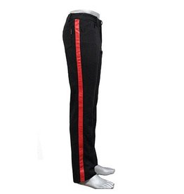 Hybrid Pants w/ Leather Stripe
