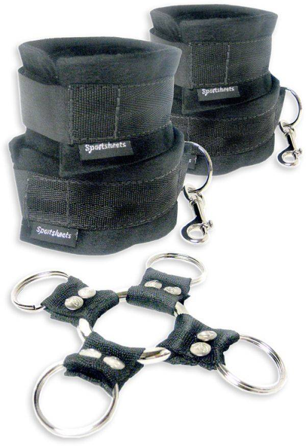 Hog Tie And Cuffs Set