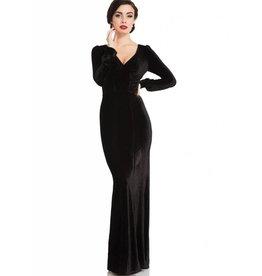 Molly 30's Velvet Gown