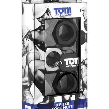 Tom of Finland Cock Ring Set