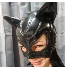 Tatjana Vinyl Cat Mask