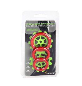 Power Stretch Silicone Ring 3 Pack