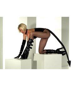 Tatjana Quilted Patent Tail
