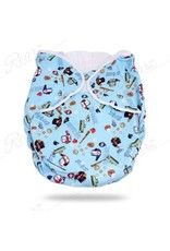 Bulky Fitted Nighttime Cloth Diaper