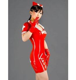 Latex Nurse's Dress