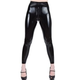 Latex Zip It Leggings