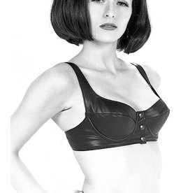 Northbound Leather Underwire Bra W/Snap