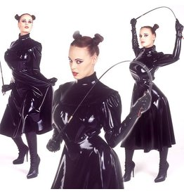 DeMask Latex Governess Dress