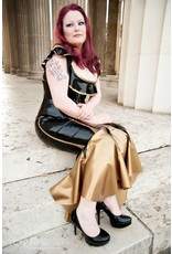 DeMask Latex Florentine Skirt