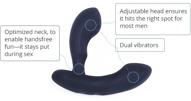 Lovense Edge Bluetooth Prostate Vibrator