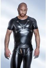 Wetlook T-Shirt w/ Harness Front