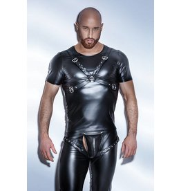 Wetlook T-Shirt w/ Harness Front