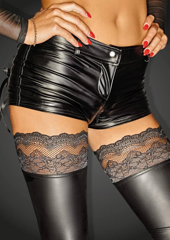 Wetlook Hot Shorts w/ 2-Way Zipper
