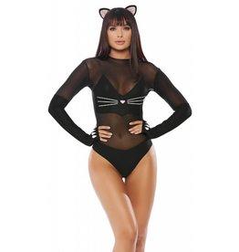 Sly Kitten Bodysuit