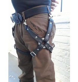 Stitched Leg Harness