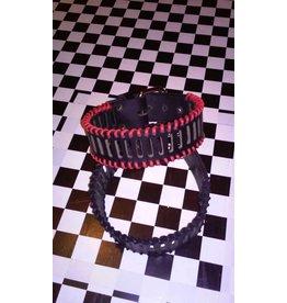 LethalWare Stitched Leather Armband