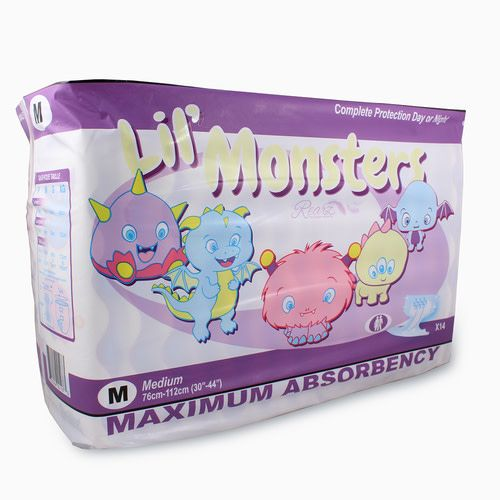 Rearz Disposables Diapers Lil' Monsters