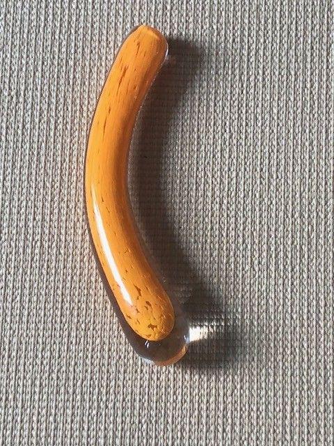 Curved Standard Glass Dildo