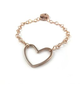 Restrained Grace RG Heart Ring Day Collar