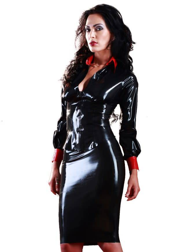 Latex Mistress Skirt