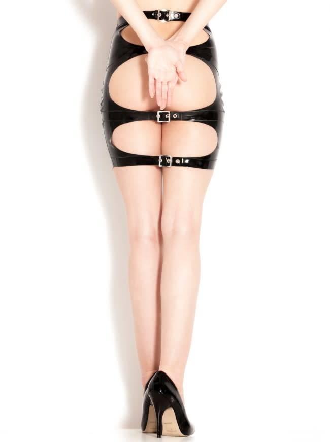 Latex Spanking Skirt
