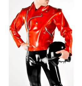 DP Latex Perfecto Motorcycle Jacket