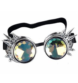 Steampunk Spiked Kaleidoscope Goggles