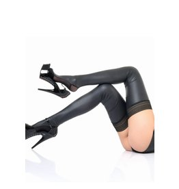 Pacific Matte Wetlook Thigh High Stocking