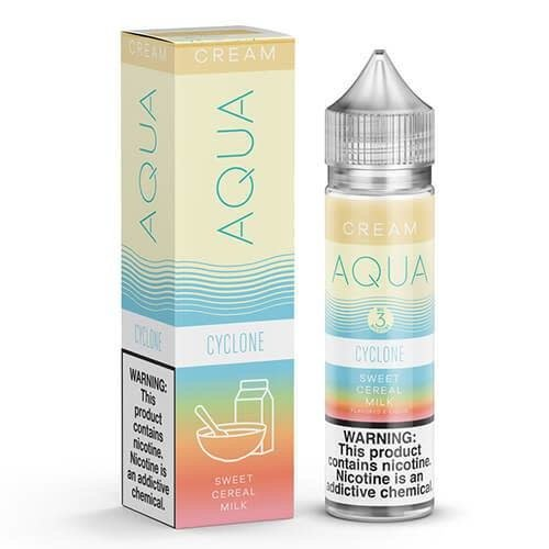 Aqua E-liquid Aqua Cream Collection E-Liquid 60ML Clearance