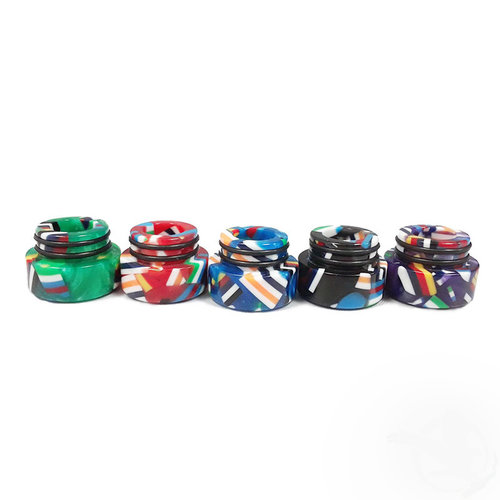 AVCT Resin 810 Drip Tips - TFV8 / TFV12 Prince / Big Baby / X-Baby / Resa Prince / UFORCE T2 - Assorted Colors