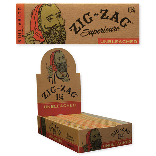 Zig Zag Unbleached Ultra Thin Rolling Papers