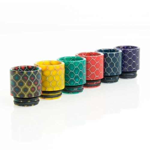SMOK Luminus Cobra Honeycomb 810 Drip Tip - TFV8 / TFV12 - Assorted Colors