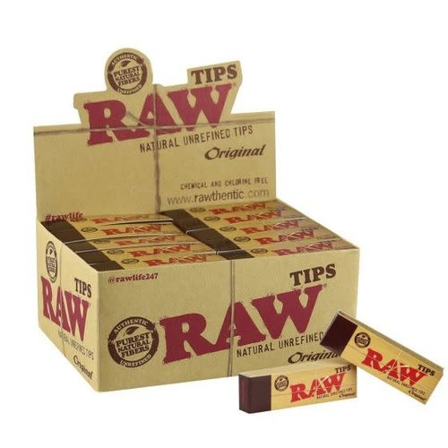 RAW Raw - Natural Unrefined Tips - 50pk
