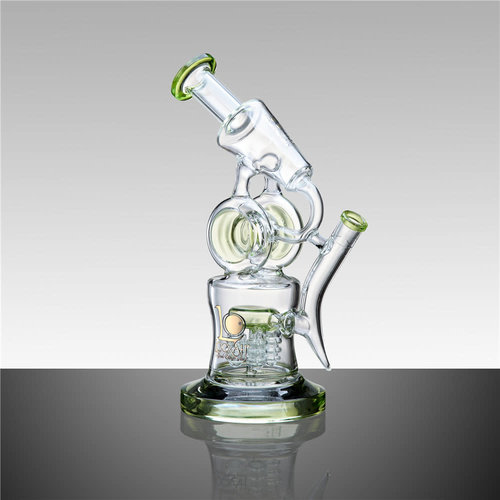 Lookah Glass Lookah Glass - 11' Water Pipe With Tree Disc Perc