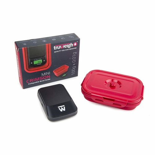 Truweigh Truweigh CRIMSON Collapsible Bowl Scale