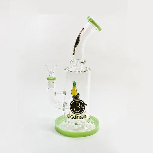 BG Mom BG Mom Glass Waterpipe - 12 Inches
