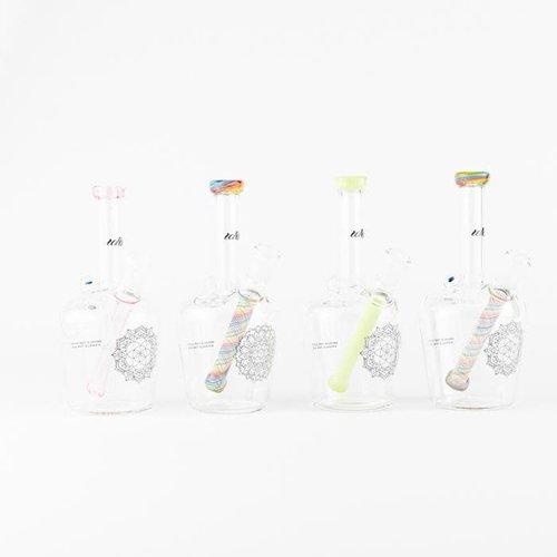 iDab iDab henny Bottle Oil Rig Opal + Lipwrap 10mm